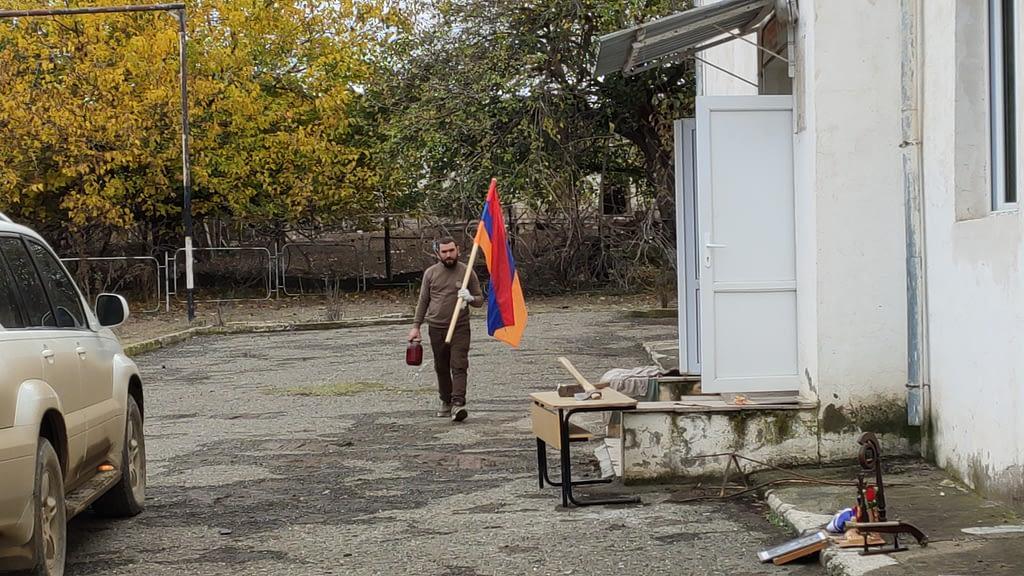 Давид с флагом