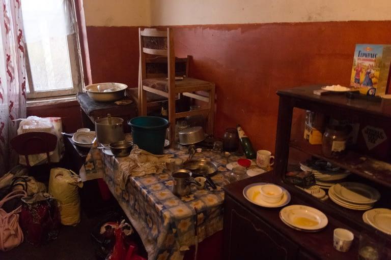 Кухня Мариам в общежитии