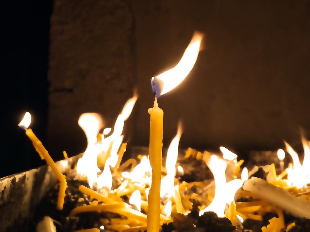 Свечи в Дадиванке